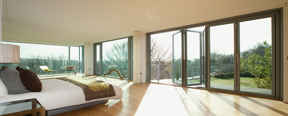We can fabricate and install bifold doors for any space