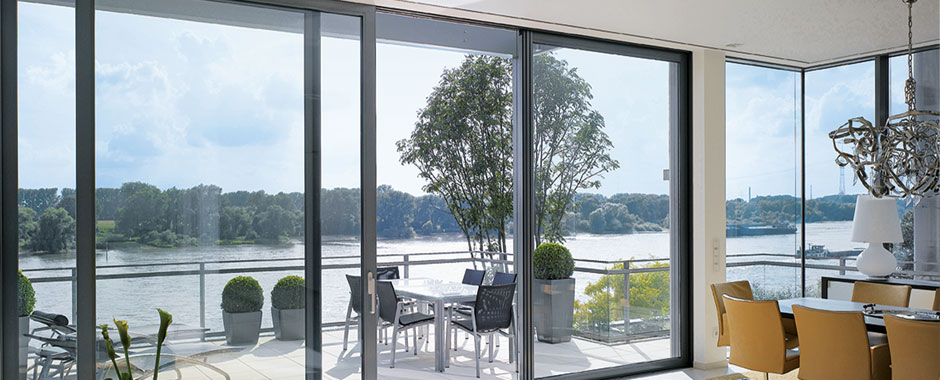 Bespoke Aluminium Sliding Doors for any room in your home